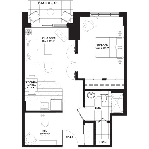 Oakpark Ironwood A Condo Floor Plans